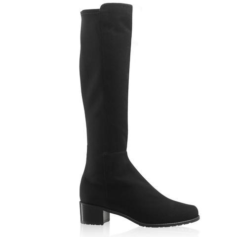 HalfnHalf Stretch Knee-High Boots