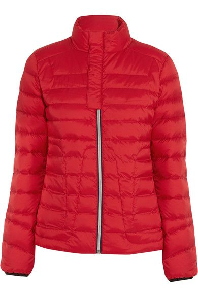 Mini Duvet Quilted Down Ski Jacket