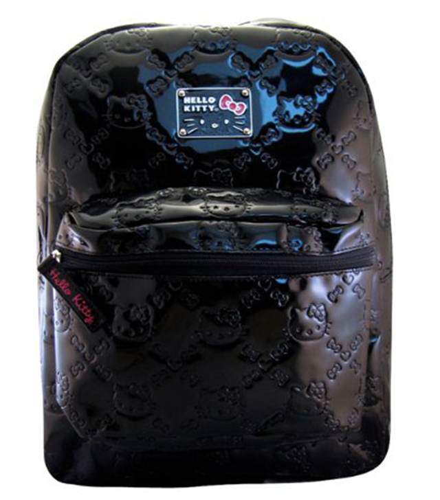 Loungefly Hello Kitty Black Embossed Backpack
