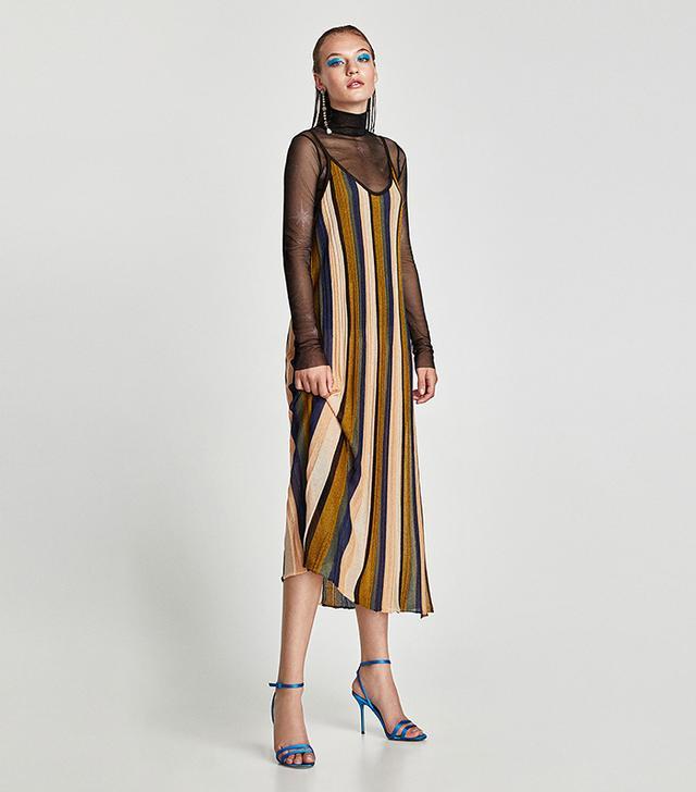 Zara Vertical Stripe Dress