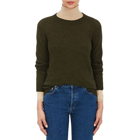 Women's Cashmere Loose-Knit Sweater