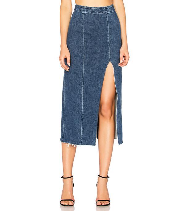 x REVOLVE Amber Long Skirt