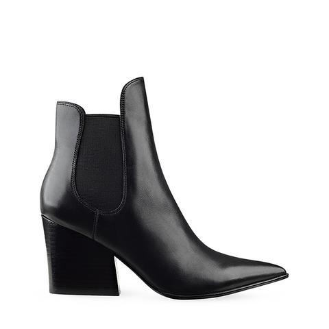 Finley Pointed Toe Block Heel Booties