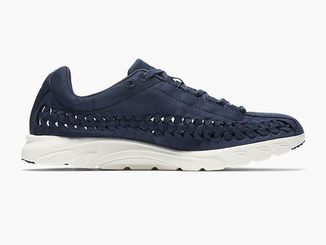 Nike Mayfly Woven Sneakers in Thunder Blue