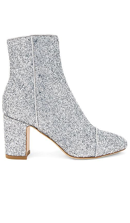 Ally Sparkling Bootie in Metallic Silver. - size 39 (also in 36,35,38,40)