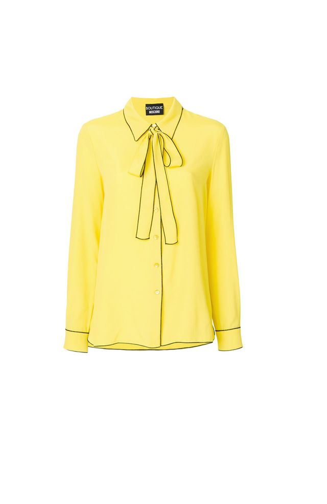 Structured Pullover in Yellow. - size XS (also in L)