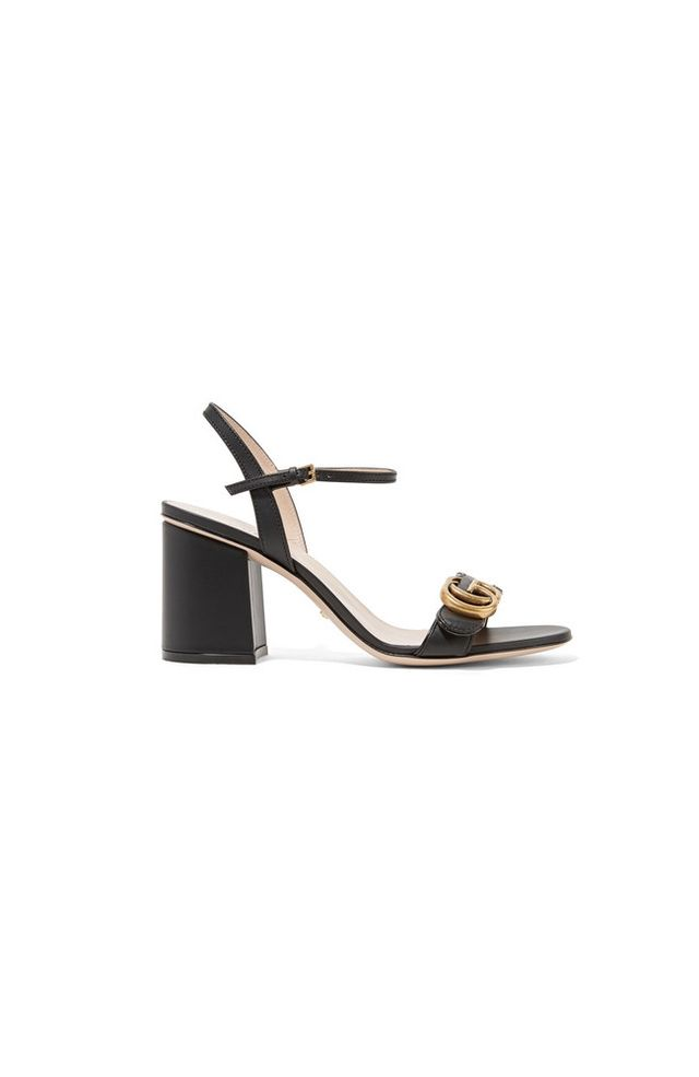 Gucci Marmont embellished leather sandals