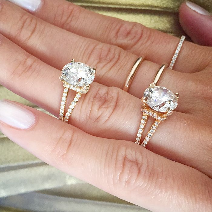 These Will Be The Two Most Por Engagement Ring Trends Of 2018 Who What Wear Au
