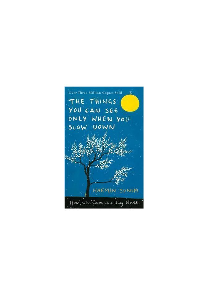 The Things You Can See Only When You Slow Down by  Haemin Sunim