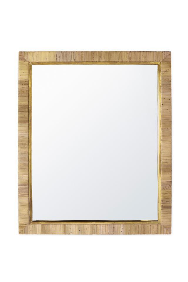 Balboa Rattan Mirror