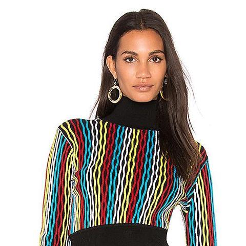 Turtleneck Crop Sweater