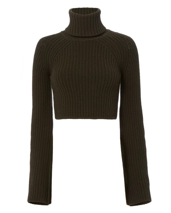 A.L.C. On Duty Irvyn Cropped Turtleneck Sweater