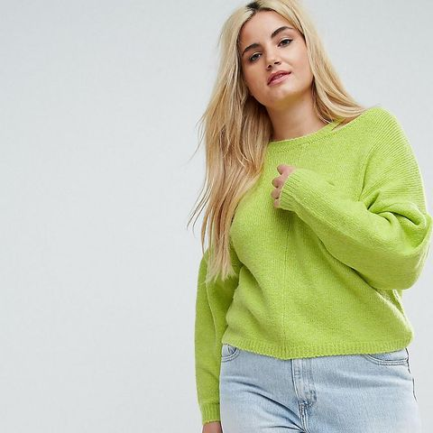 Sweater with Cut Out Neck