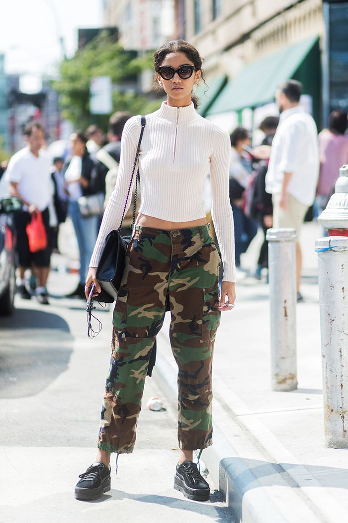 How to baggy wear army pants
