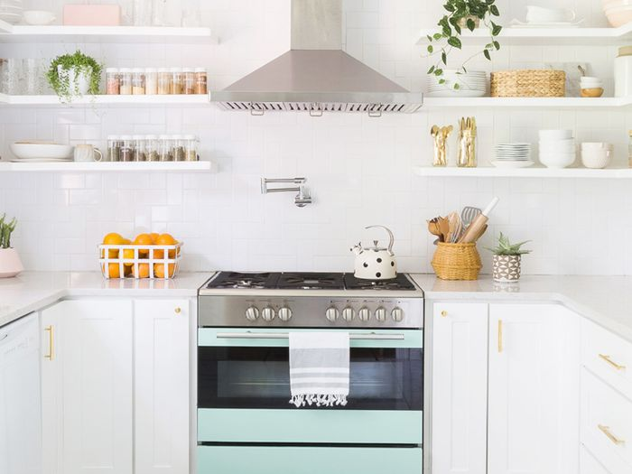 youll love these kitchens with subway tile backsplashes mydomaine - Subway Tile Kitchen Backsplash