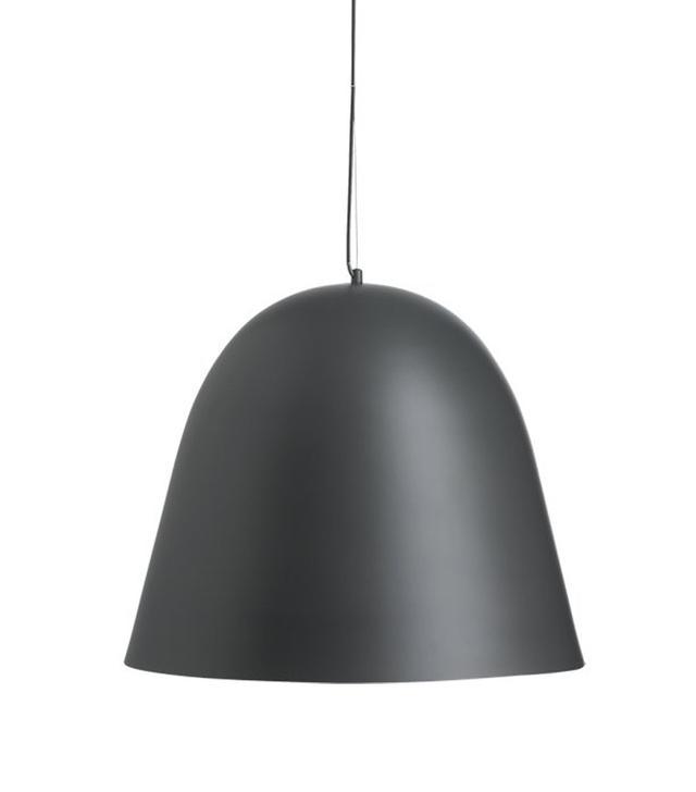 Capitol Large Black Bell Pendant Light
