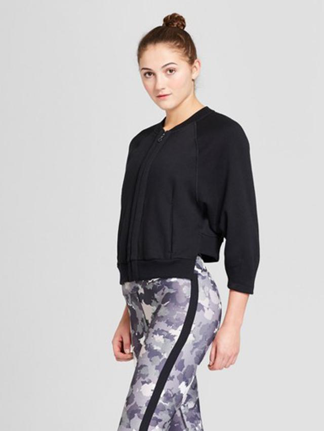 Women's Cozy Fleece Zip Jacket by JoyLab