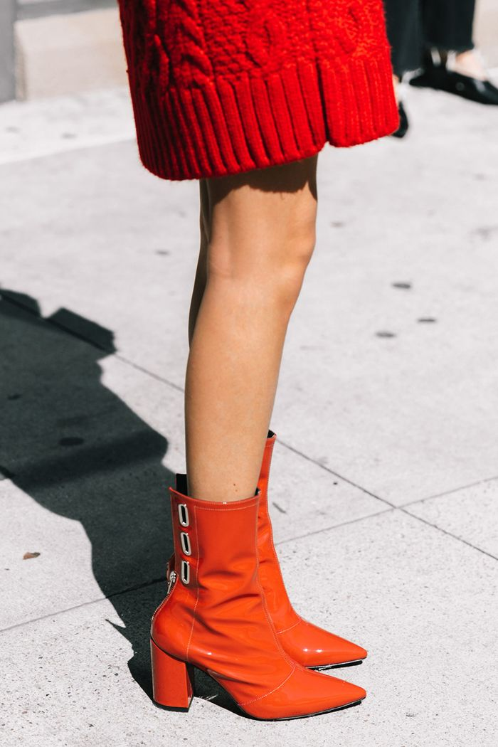 Want To Stand Out Here S How To Wear Red Boots Who What