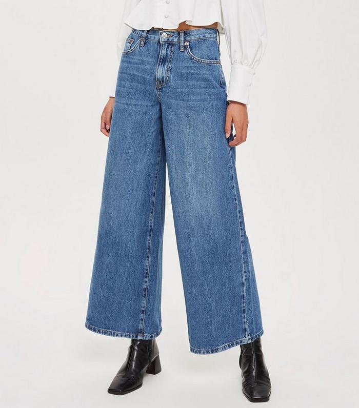 2675460bb11 Pinterest · Shop · Topshop Petite Wide Leg Jeans ...