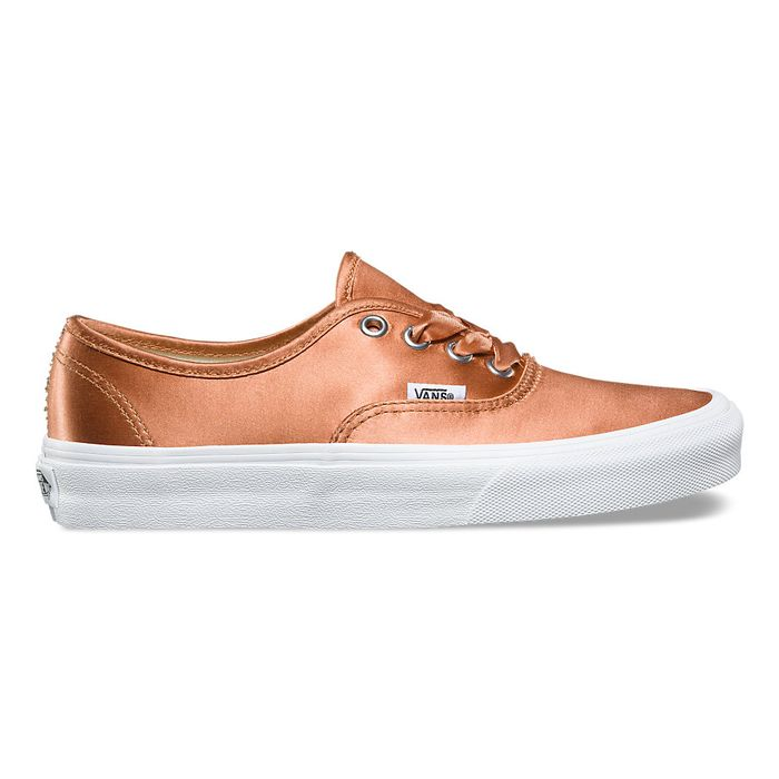 f59fecbe5d8 Alert  Vans Just Created the Prettiest Rose Gold Sneakers. by Erin  Fitzpatrick