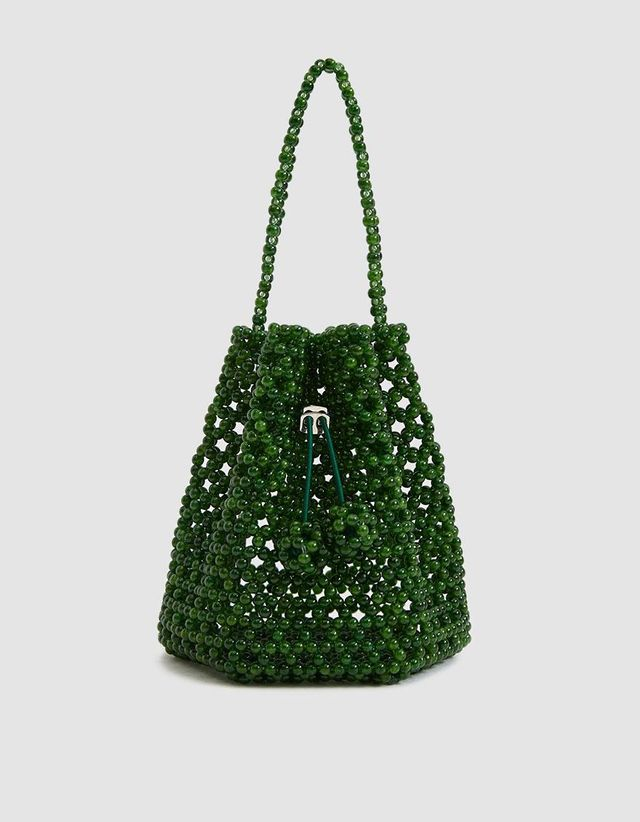Not Impressed Tulipa Beaded Bag