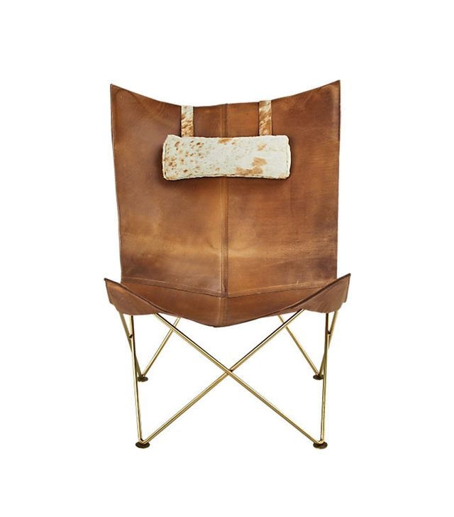 Atelier Spotted Hide Lounge Chair