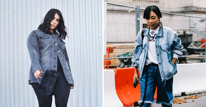 15 Ways to Layer a Denim Jacket for Winter