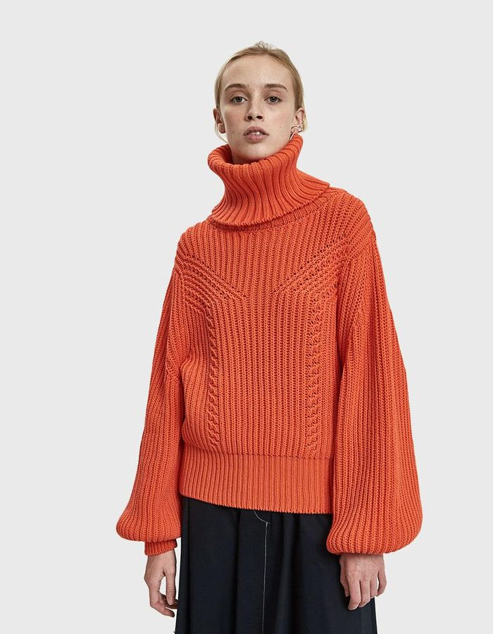 137a6119371 17 Sophisticated Sweaters You Can Wear to Work