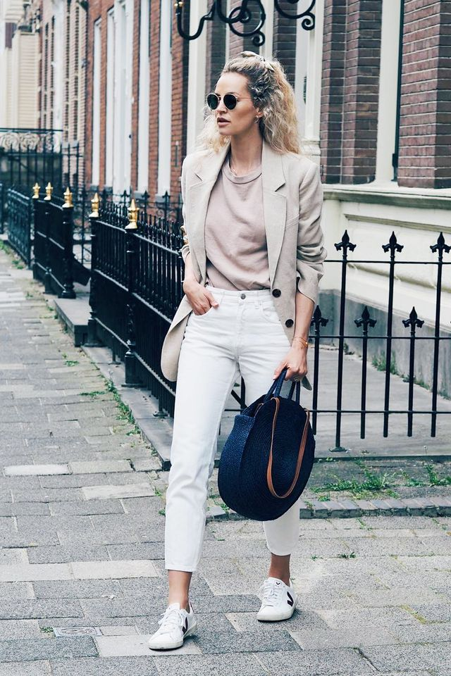 Veja Trainers on fashion blogger Anouk Yv