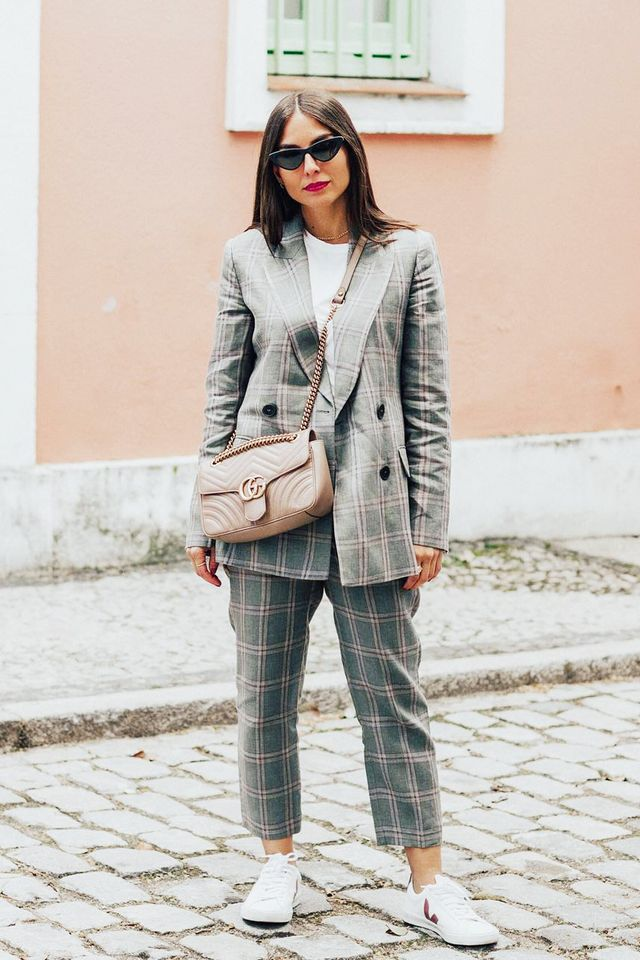 Veja Trainers on fashion blogger Erea Louro,