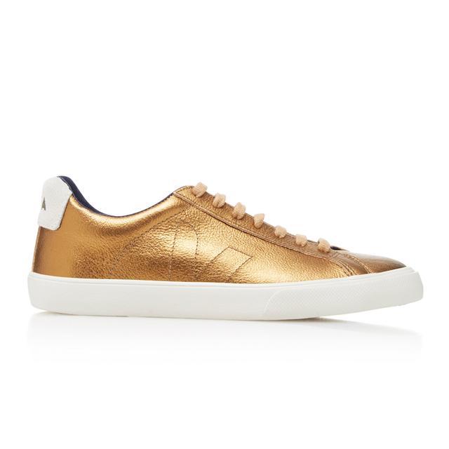 Veja Esplar Metallic Leather Sneakers