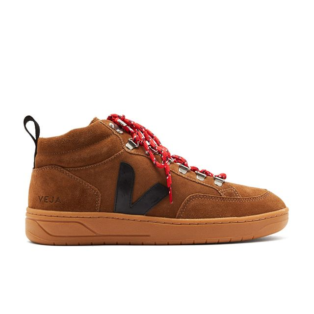Veja Roraima Bastille Lace-Up Leather Trainers