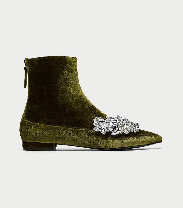8fd511167e Velvet Boots That Will Freshen Up Your Jeans | Who What Wear