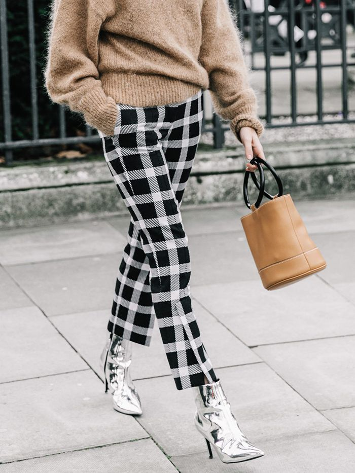 6cd3622d 13 Cool Ways to Wear Cropped Pants With Booties | Who What Wear