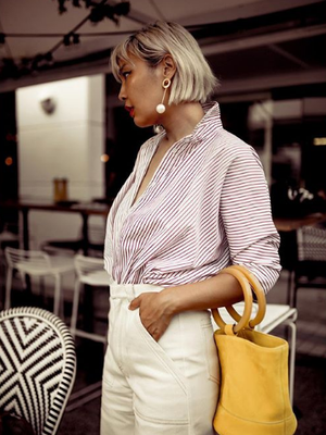 When You Take a Closer Look, This Fashion Blogger Is All About the Accessories