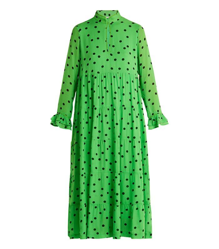 d472a5a41a2 ASOS s Green Pleated Maxi Dress Is So Popular Already