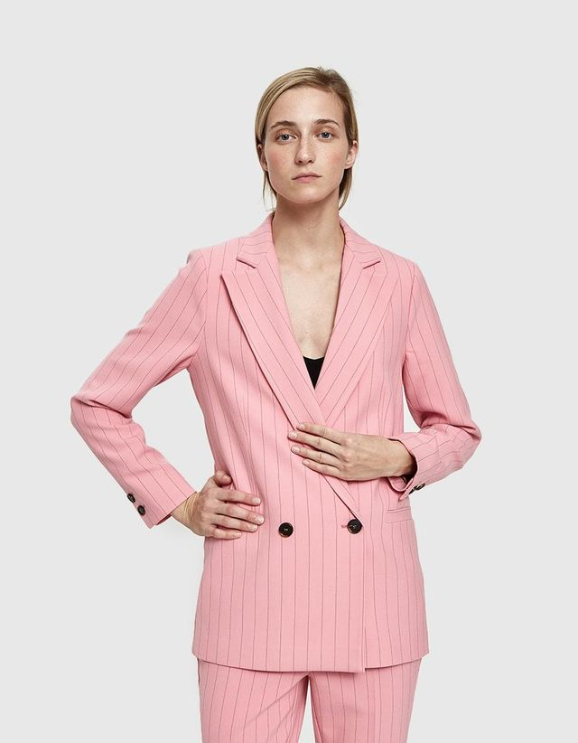 Brighton Blazer in Sea Pink