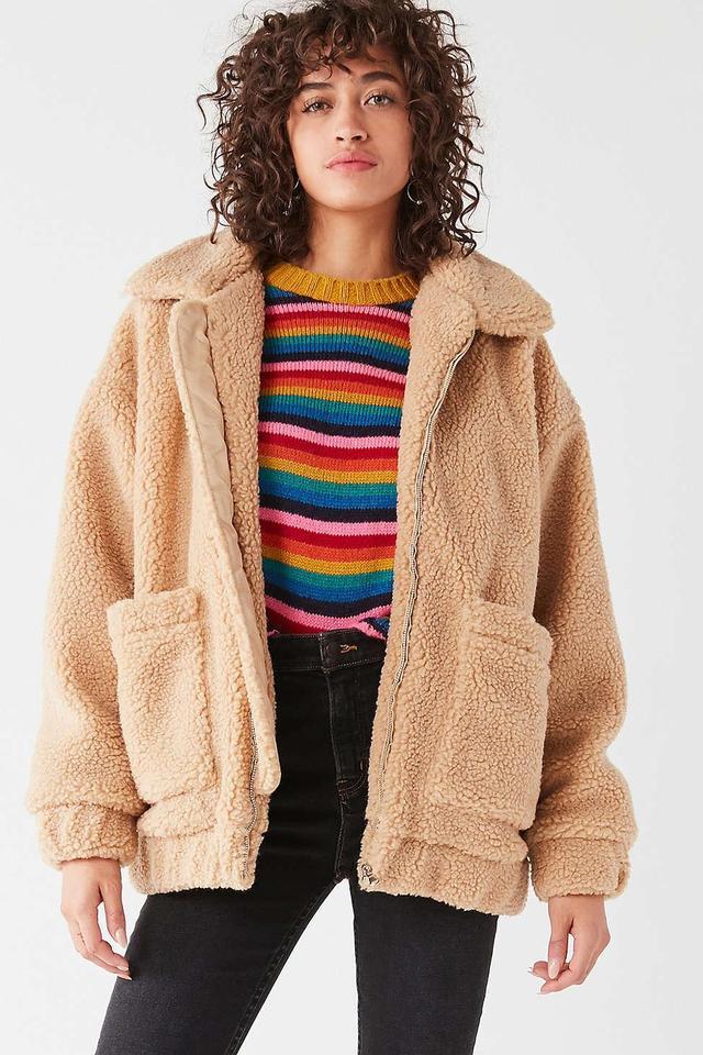 Pixie Teddy Coat