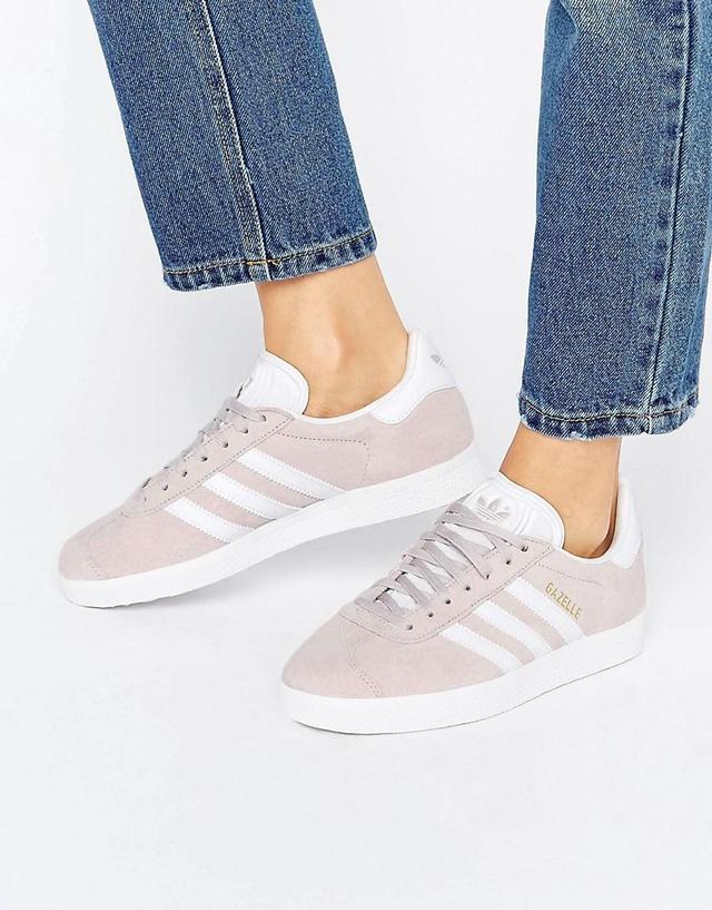 adidas Originals Ice Purple Suede Gazelle Unisex Sneakers