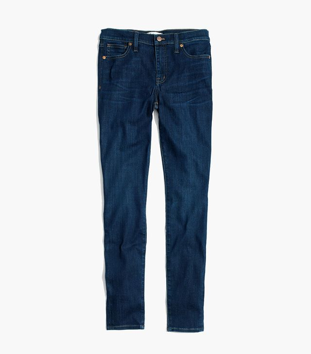 """9"""" High-Rise Skinny Jeans in Larkspur Wash"""