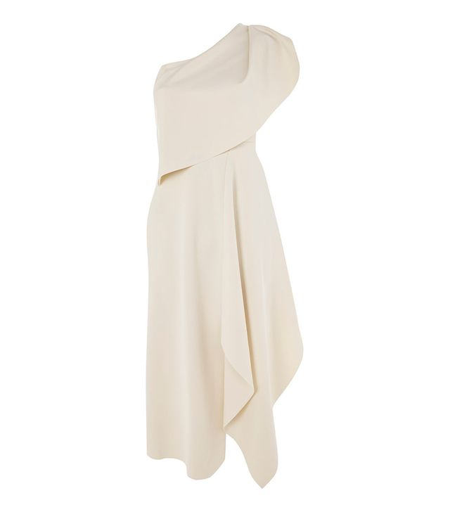 Topshop One Shoulder Dress