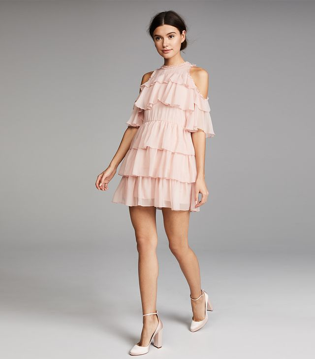 Nichola Ruffle Party Dress