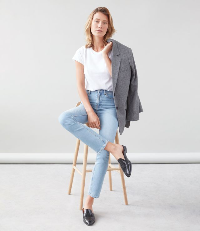 Everlane High-Rise Skinny Jeans