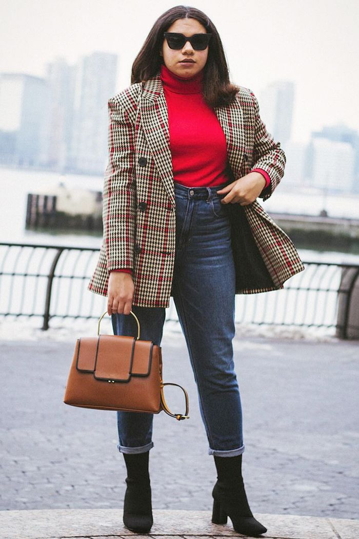 efde65e0405c 17 Ways to Wear a Blazer With Jeans to Work | Who What Wear