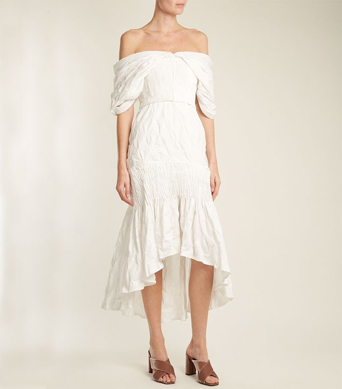 Off White Wedding Gown Meaning: Shop Our Favorite City Hall Wedding Dresses