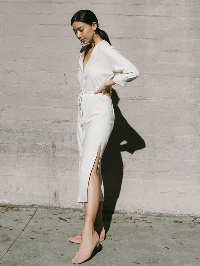 the best allwhite party outfits  who what wear