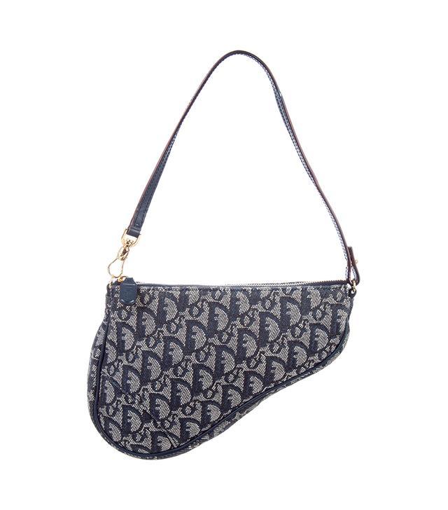 Dior Mini Diorissimo Saddle Bag