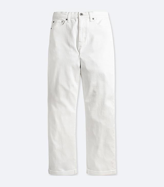 Women's High-rise Boyfriend-fit Jeans, Navy, 32 in.
