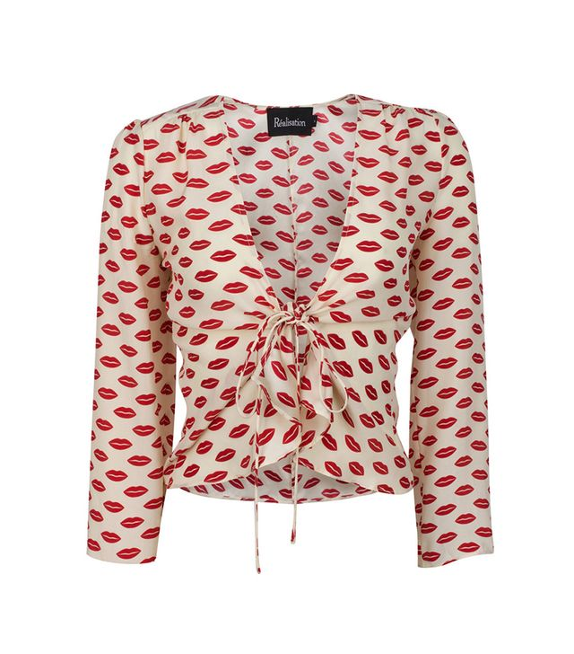Réalisation The Bianca Top in Lip
