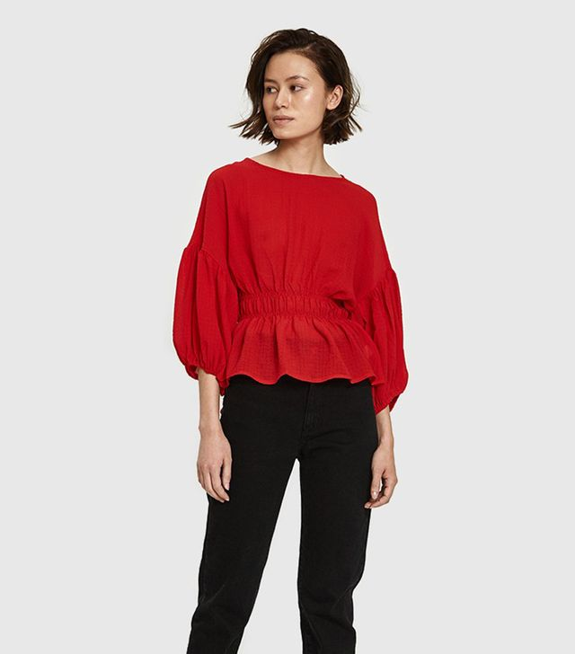 Luc Blouse in Red